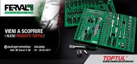 TOPTUL ITALIA AD AUTOPROMOTEC 2017