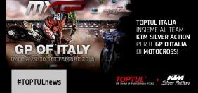 TOPTUL ITALIA con il Team KTM Silver Action a Imola per il GP d'Italia di Motocross!