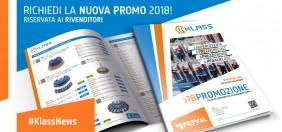 Vuoi ampliare l'offerta di prodotti della tua attività? Richiedi la promozione Klass 2018!