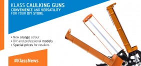 Klass Caulking Guns: saving and versatility for you hardware or e-commerce