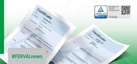 Ferval ottiene la nuova certificazione di gestione della qualità UNI EN ISO 9001:2015