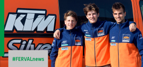 FERVAL BECOMES THE NEW MAIN SPONSOR OF MOTOCROSS TEAM KTM SILVER ACTION