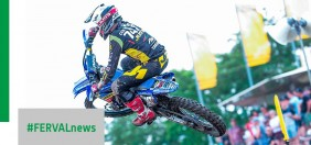 MXGP Germany. Michele Cervellin Team Yamaha Sm Action in MX2 gets another good result