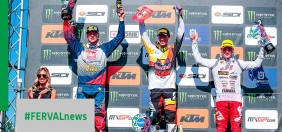 MXGP Italy. MX2 podium in World Champ. for Maxime Renaux, points for Andrea Adamo