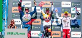 MXGP Italia. MX2 primo podio mondiale per Renaux, Adamo primi punti iridati