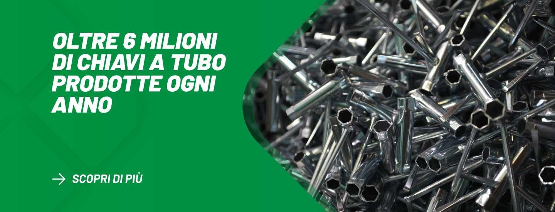 Oltre 6.000.000 di chiavi a Tubo prodotte ogni anno