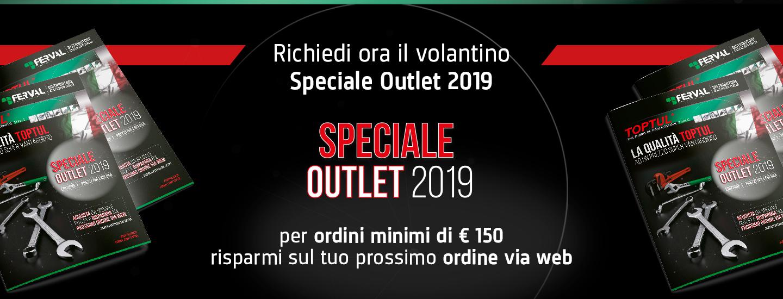 Sconto ordini area riservata speciale Outlet 2019