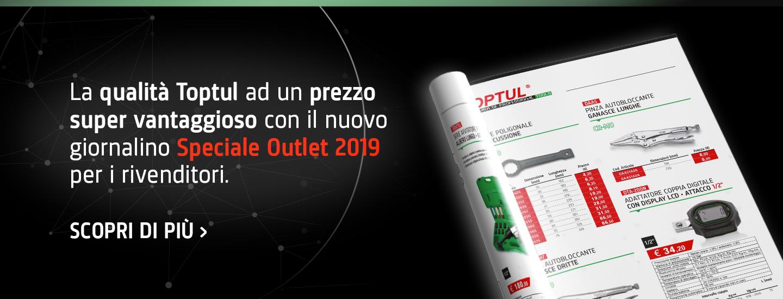 Toptul utensili professionali giornalino Speciale Outlet 2019