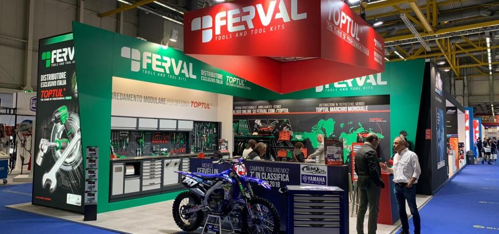 Ferval Srl Distributore esclusivo per l'Italia Toptul Utensili Manuali - Autopromotec 2019